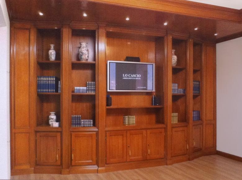 Libreria Classica in Ciliegio