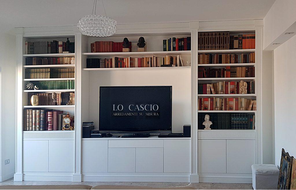 Libreria su Misura Timeless con TV