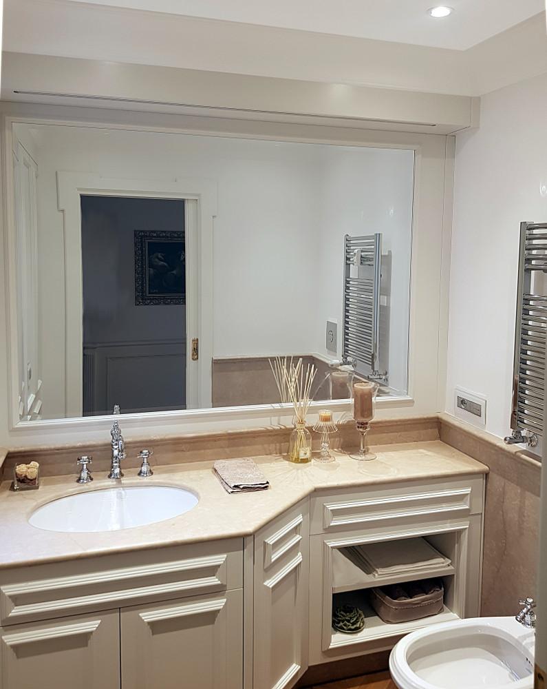 Progetto Bagno 3 Mq bagno su misura classic style in soli 3,5 mq | lo cascio