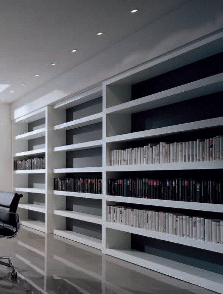 libreria su misura moderna MAXXI