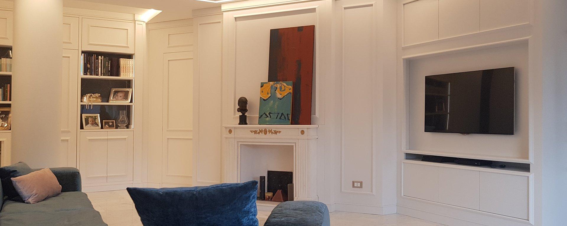 appartamento completo arredato nello stile Timeless